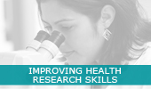 Improving Health Research Skills - Post Graduate