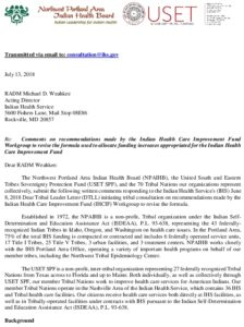 Icon of USET SPF NPAIHB Draft IHCIF Joint Letter Final